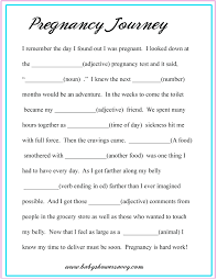 baby mad libs baby shower mad lib pregnan mad pregnancy and free printable