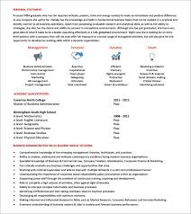 mba resume templates 6 download free documents in pdf psd
