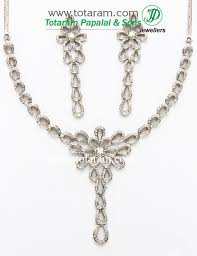 white gold diamonds necklace images 18k white gold diamond necklace drop earrings set 235 ds342 in jpg