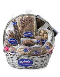 chocolate baskets chocolate gift basket peterbrooke chocolatier