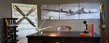 Aviation Home Decor Retro And Vintage Themed Wood And Metal Signs Aviation And