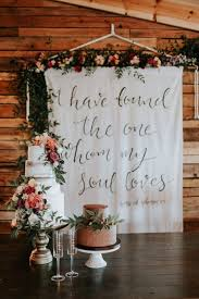 wedding backdrop quotes ways to incorporate quotes into your wedding decor
