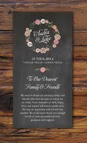 sle wedding ceremony program 45 best ceremony programs images on invitations
