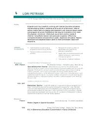 general resume objective resume objective exles