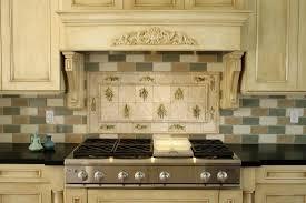 Contemporary Kitchen Backsplashes Custom Mosaic Tile Mural With Contemporary Kitchen Backsplash Tags