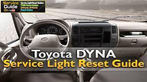 mitsubishi fuso service light reset toyota dyna service light reset oil light reset youtube