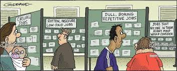 job hunting cartoons and comics funny pictures from cartoonstock