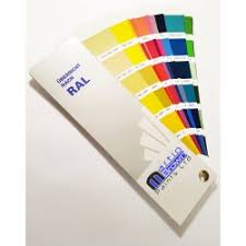 ral and british standard colour chart colour swatches from