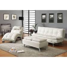 faux leather futons u0026 convertible sofas hayneedle
