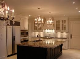 Traditional Kitchen Backsplash Ideas - amazing traditional kitchen backsplash with beautiful chandeliers