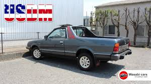 subaru brat spotted in japan a 1986 usdm subaru brat youtube