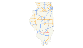 Map Of Southern Illinois by U S Route 50 In Illinois Wikipedia