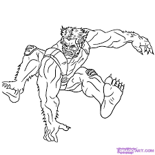 men coloring pages beast