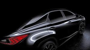 lexus rx new model 2016 lexus rx previewed ahead of new york auto show reveal autoweek
