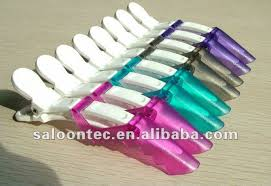 crocodile hair plastic alligator hair clip crocodile clip salon hair clip buy