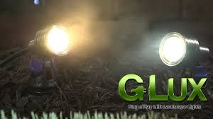 Landscape Flood Light by Landscaping Led Spot Light G Lux Series 3 Watt Youtube