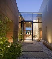 modern glass front door glass entrance front door massive modern home in las vegas