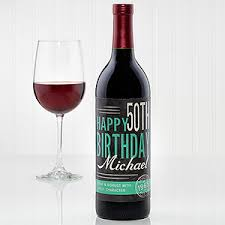 wine birthday gifts personalized birthday gifts personalizationmall