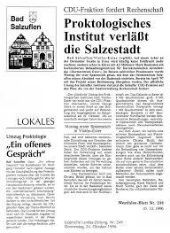 Lippische Landeszeitung Bad Salzuflen Darmklinik Exter Gmbh In Vlotho Exter 1996