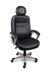 Leather Office Chair Nhl Boston Bruins Leather Office Chair Swivel Home