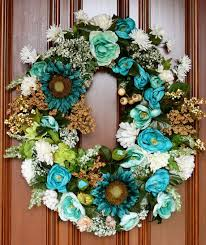 293 best wreaths blue topiaries swags door decor