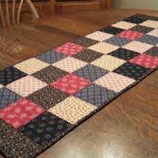 Primitive Table Runners by Best Quilted Patchwork Table Runners Products On Wanelo