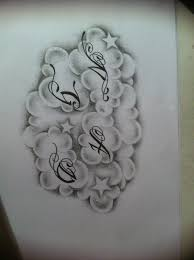 clouds tattoo design by tattoosuzette on deviantart