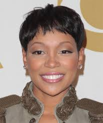 black women with short haircut and tappered sides hairstyles on black women instyle fashion one