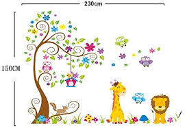 stickers jungle chambre bébé stickers chambre bb jungle stickers and child baby room ideas