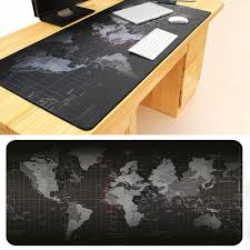 desk size mouse pad large size world map speed game mouse pad laptop gaming mousepad