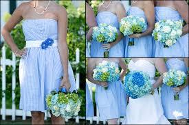 hydrangea wedding seersucker hydrangea wedding kate vt wedding