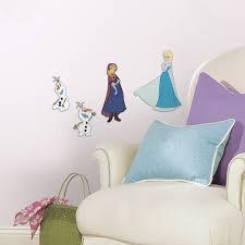 disney frozen foam characters wall decals wall sticker shop