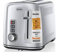 Cheap Toasters For Sale Buy Breville The Perfect Fit For Warburtons Vtt570 2 Slice Toaster
