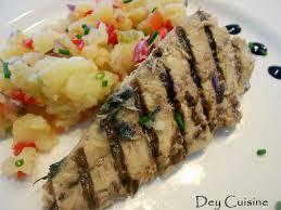 cuisine maquereau dey cuisine maquereaux grillés écrasé de pommes de terre aux légumes
