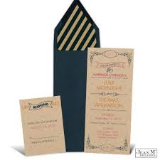 custom invites kick your wedding celebration with these vintage yet whimsical