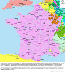 Alsace Lorraine Map France 1700 1715