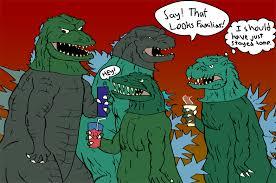 Kids Godzilla Halloween Costumes Quickie Godzilla Halloween Party A3dnazrigar Deviantart