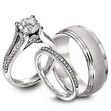 cheap wedding sets for him and wedding bands sets for him and his hers matching set 5mm