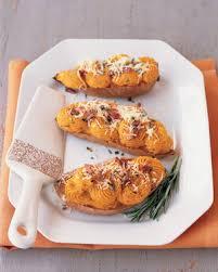savory baked sweet potatoes