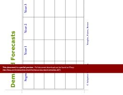 market survey report template