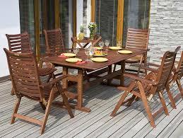 how to clean wooden garden furniture saga