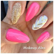 pink stiletto nail designs to adore pink stiletto nails