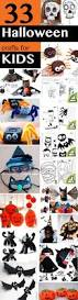 33 halloween crafts for kids with three kids under the age if six