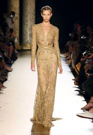 cocktail party silhouette fall 2012 haute couture elie saab u0027s ottoman spendours