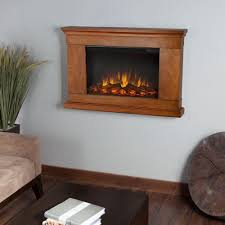 Home Depot Wall Mount Fireplace by Real Flame Jackson 38 In Wall Mount Slim Line Electric Fireplace