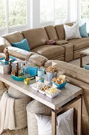 Colored Leather Sofas The Havertys Bentley Reclining Sectional Scores Big Points In Any