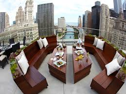 the terrace at trump international hotel u0026 tower chicago u2013 chicago