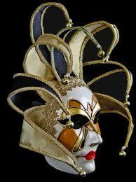venetian jester mask made jester mask gold jester mask venetian mask society