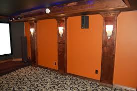 Home Theatre Sconces Show Me Your Wood Columns Pillars Avs Forum Home Theater