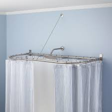 Clawfoot Tub Shower Curtain Rod You Can Make Yourself Clawfoot Tub Shower Curtain Rods Signature Hardware